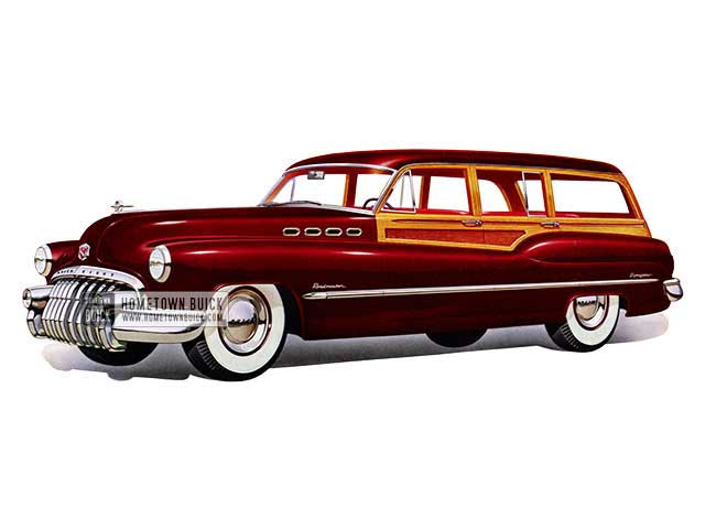 1950 Buick Roadmaster Estate Wagon - Model 79 HB