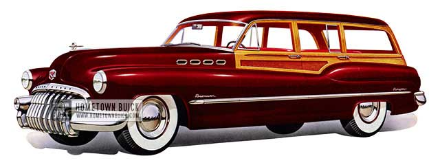 1950 Buick Roadmaster Estate Wagon - Model 79