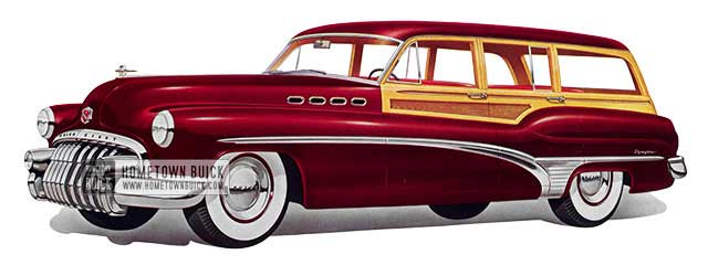 1950 Buick Roadmaster Estate Wagon - Model 79R