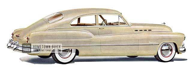 1950 Buick Roadmaster Jetback Sedanet - Model 76S