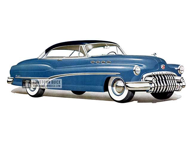 1950 Buick Roadmaster Riviera - Model 75R HB