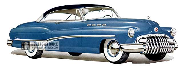 1950 Buick Roadmaster Riviera - Model 75R