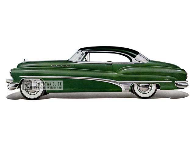 1950 Buick Roadmaster Deluxe Riviera Model 76r