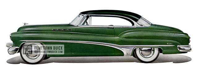 1950 Buick Roadmaster Riviera - Model 76R