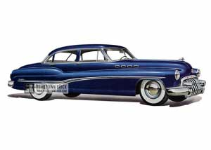1950 Buick Roadmaster Riviera Sedan - Model 72R HB