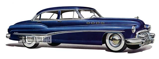 1950 Buick Roadmaster Riviera Sedan - Model 72R
