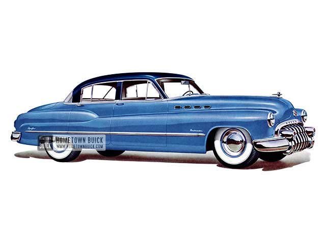 1950 Buick Roadmaster Tourback Sedan - Model 71 HB