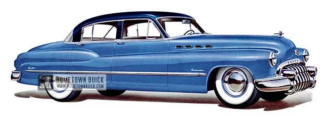 1950 Buick Roadmaster Tourback Sedan - Model 71