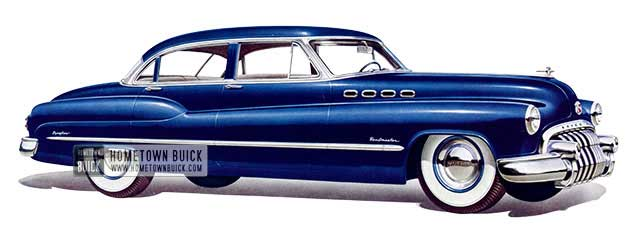 1950 Buick Roadmaster Tourback Sedan - Model 72