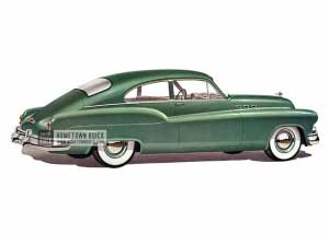 1950 Buick Special Jetback Coupe - Model 46 HB