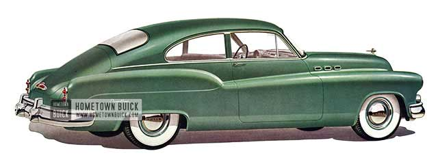 1950 Buick Special Jetback Coupe - Model 46