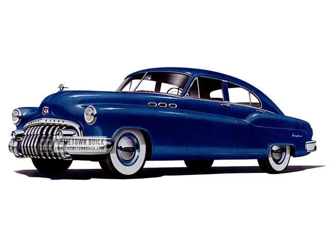 1950 Buick Special Jetback Sedan - Model 43 HB