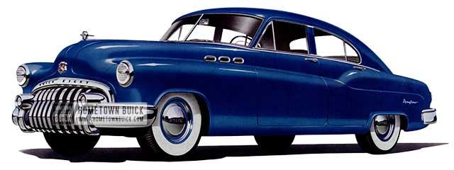1950 Buick Special Jetback Sedan - Model 43