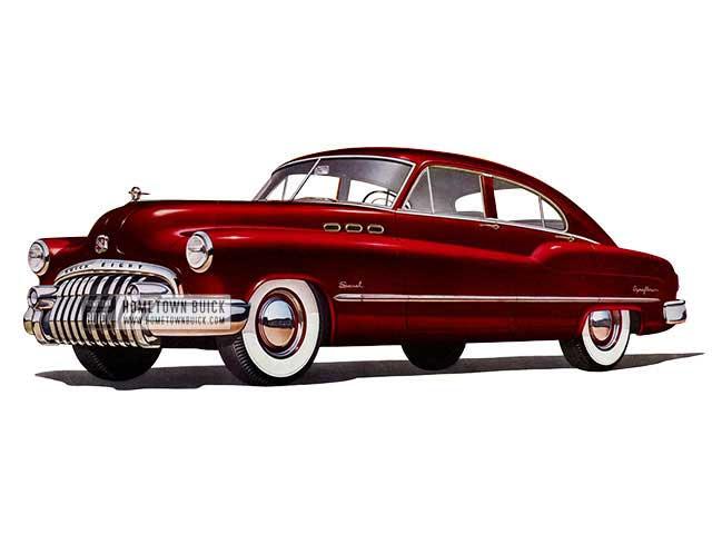 1950 Buick Special Jetback Sedan - Model 43D HB