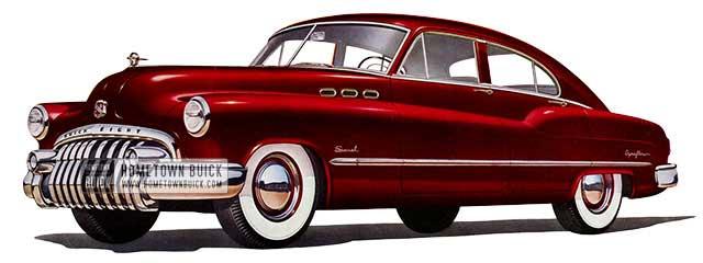 1950 Buick Special Jetback Sedan - Model 43D