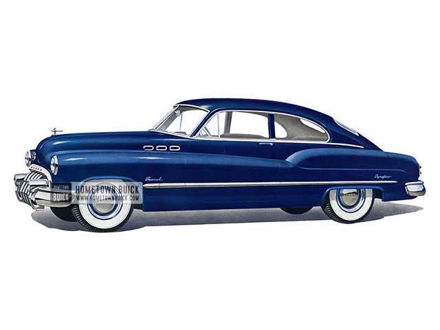 1950 Buick Special Jetback Sedanet - Model 46D HB