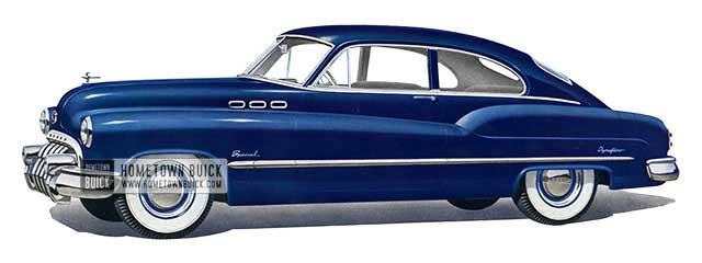 1950 Buick Special Jetback Sedanet - Model 46D