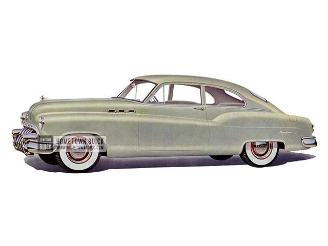 1950 Buick Special Jetback Sedanet - Model 46S HB