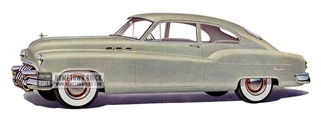 1950 Buick Special Jetback Sedanet - Model 46S