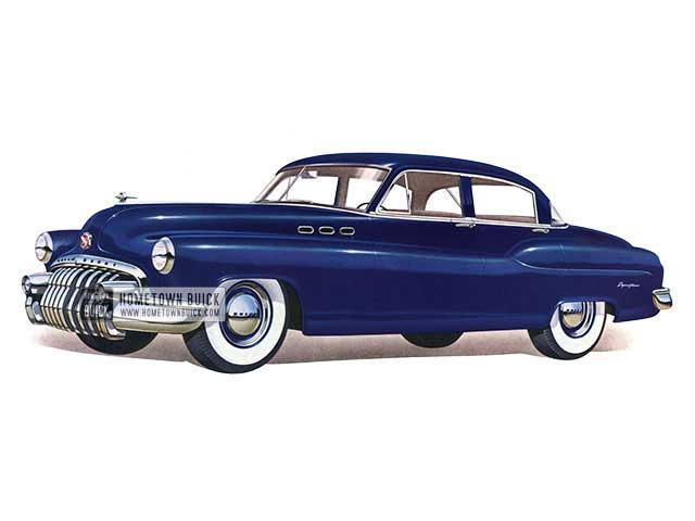 1950 Buick Special Tourback Sedan - Model 41 HB