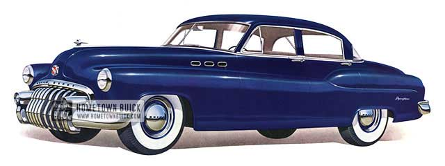 1950 Buick Special Tourback Sedan - Model 41