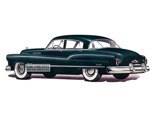 1950 Buick Special Tourback Sedan - Model 41D HB