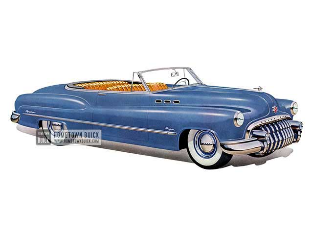 1950 Buick Super Convertible - Model 56C HB