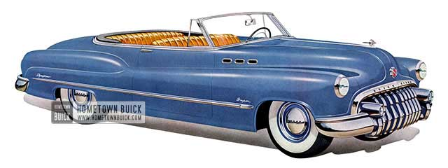 1950 Buick Super Convertible - Model 56C