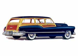 1950 Buick Super Estate Wagon - Model 59 HB