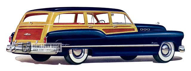1950 Buick Super Estate Wagon - Model 59