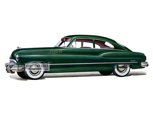 1950 Buick Super Jetback Sedanet - Model 56S HB