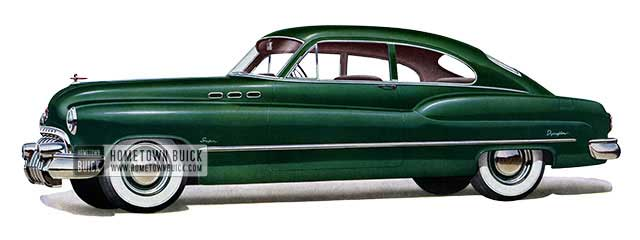 1950 Buick Super Jetback Sedanet - Model 56S