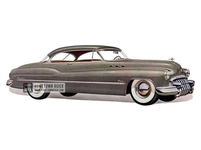 1950 Buick Super Riviera - Model 56R HB