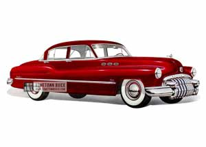 1950 Buick Super Tourback Sedan - Model 51 HB