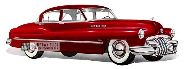 1950 Buick Super Tourback Sedan - Model 51