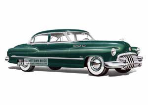 1950 Buick Super Tourback Sedan - Model 52 HB