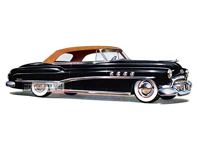 1951 Buick Roadmaster Convertible - Model 76C HB