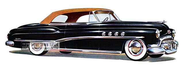 1951 Buick Roadmaster Convertible - Model 76C