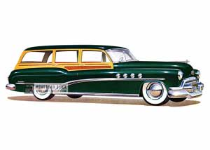 1951 Buick Roadmaster Estate Wagon - Model 79 HB