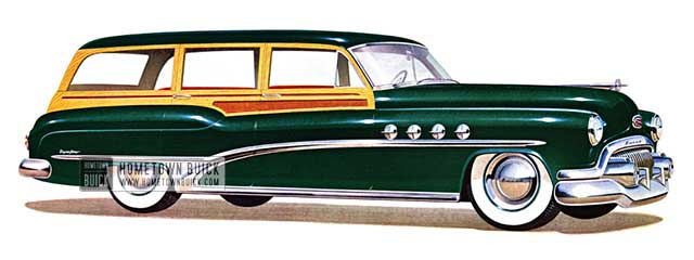1951 Buick Roadmaster Estate Wagon - Model 79