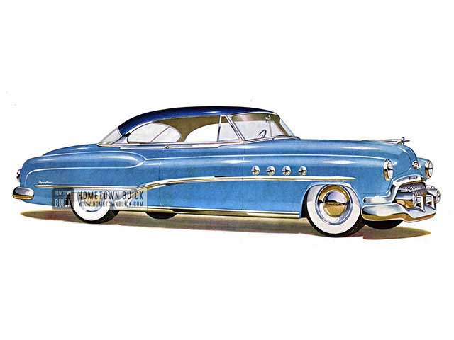 1951 Buick Roadmaster Riviera - Model 76R HB