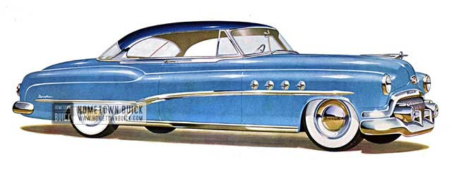 1951 Buick Roadmaster Riviera - Model 76R