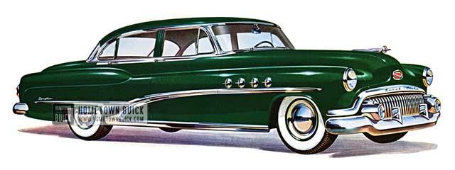 1951 Buick Roadmaster Sedan - Model 72R