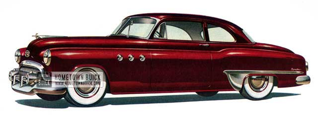 1951 Buick Special Business Coupe - Model 46