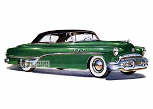 1951 Buick Special Convertible - Model 46C HB