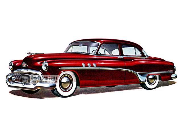 1951 Buick Special Deluxe Sedan - Model 41D HB