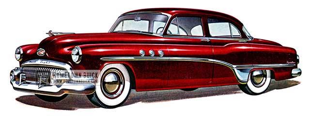 1951 Buick Special Deluxe Sedan - Model 41D