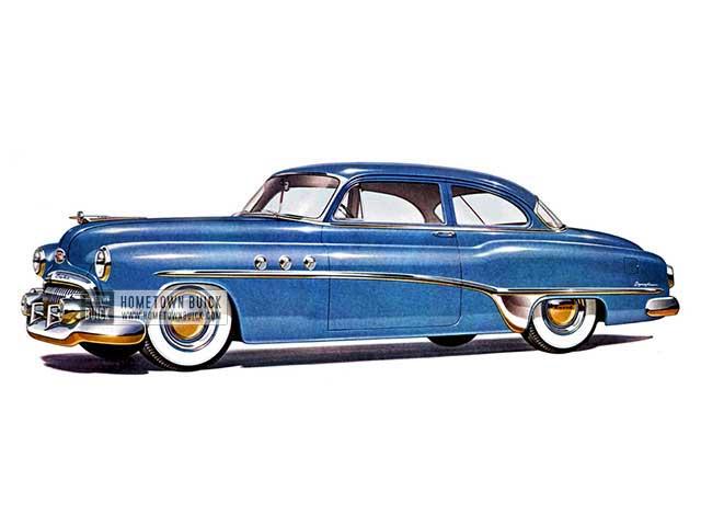 1951 Buick Special Deluxe Sedan - Model 48D HB