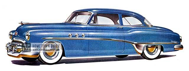 1951 Buick Special Deluxe Sedan - Model 48D