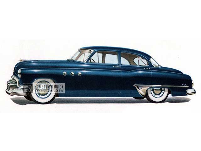 1951 Buick Special Sedan - Model 41 HB